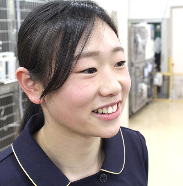動物看護師:藤原玲奈/高崎動物専門学校