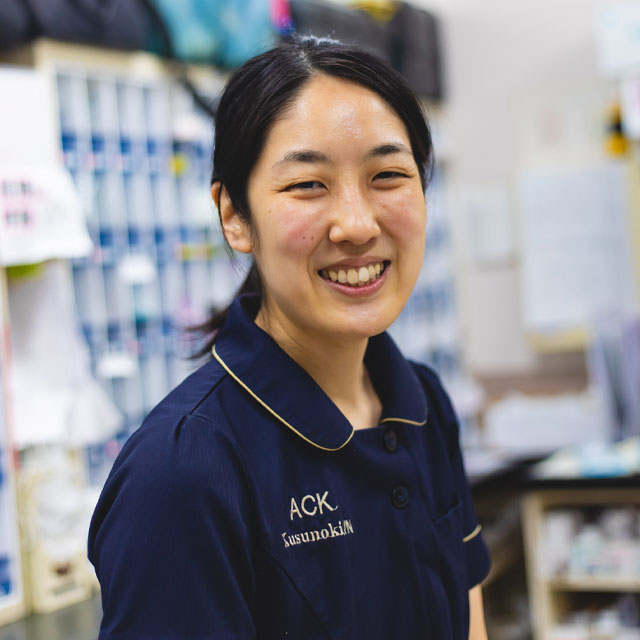 動物看護師:楠ひとみ/立正大学