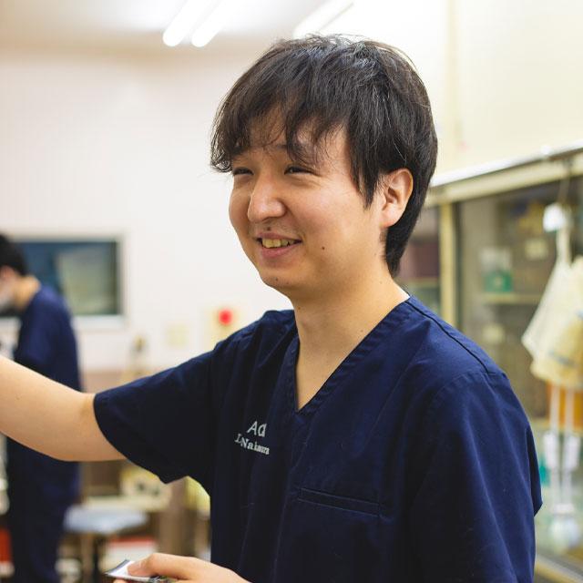 獣医師:中村勇太/北里大学/iveatエコー認定医