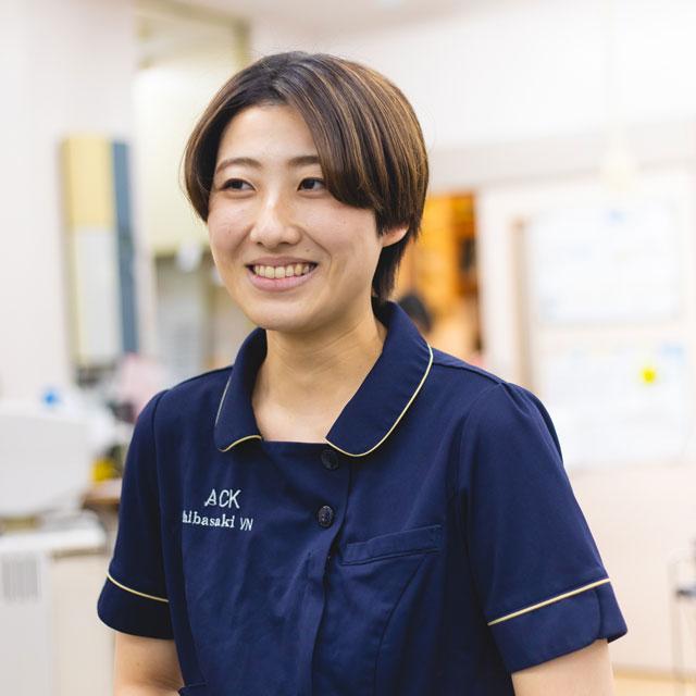 動物看護師:柴崎瑠花/学校法人MGL学園高崎動物専門学校